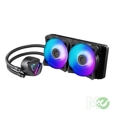 MX00112508 MAG Core Liquid 240R, AIO Liquid CPU Cooler, 240mm Radiator, Double 120mm PWM Fans, ARGB