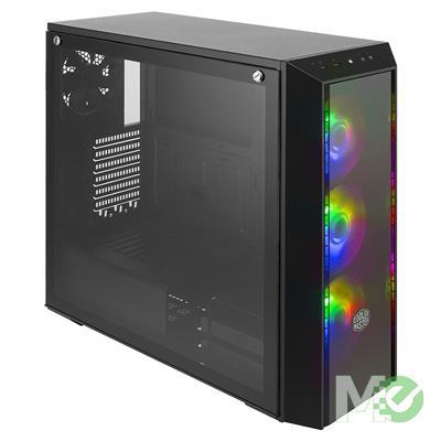 MX00112546 MasterBox Pro 5 ARGB w/ 3x 120mm ARGB Fans, 1x 120mm Fan, ARGB Controller, ARGB 2-to-3 Splitter