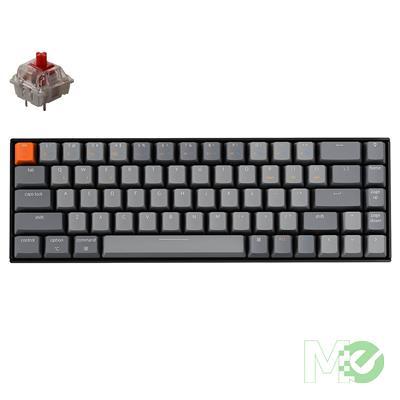 MX00112628 K6 Wireless RGB Aluminum Mechanical Keyboard, Gateron Red Switches