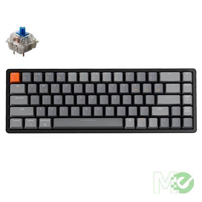 MX00112630 K6 Wireless RGB Aluminum Mechanical Keyboard, Gateron Blue Switches