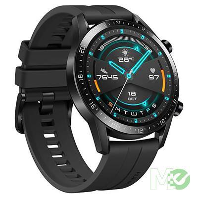 MX00112643 Watch GT 2 Smart Watch w/ 46mm AMOLED, GPS, Heart Rate Monitor, Sport Black