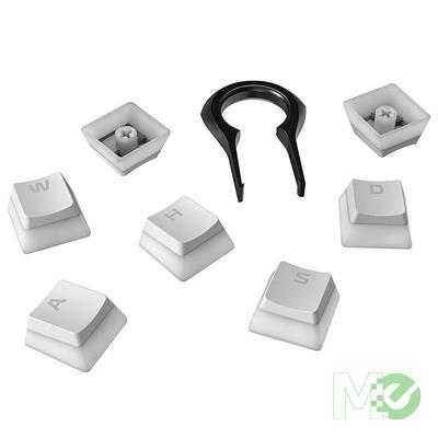 MX00112669 Double Shot PBT Pudding Keycaps, Full Key Set, White