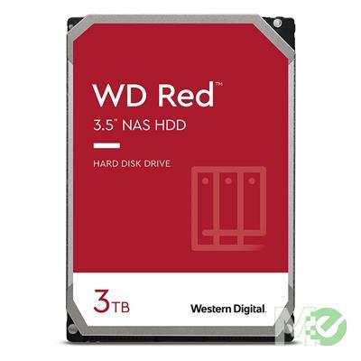 MX00112672 RED 3TB NAS Desktop Hard Drive, SATA III w/ 256MB Cache