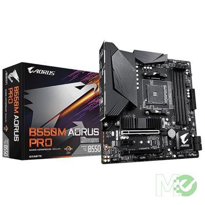 MX00112706 B550M AORUS PRO w/ DDR4-3200, 7.1 Audio, Dual M.2, Gigabit LAN