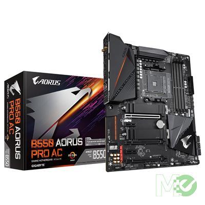 MX00112709 B550 AORUS PRO AC w/ DDR4-3200, 7.1 Audio, 2.5GB LAN, WiFi, PCI-E 4.0