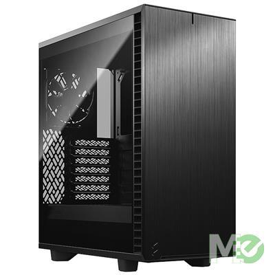 MX00112777 Define 7 Compact Mid Tower ATX Case w/ Dark Tint Tempered Glass, Black