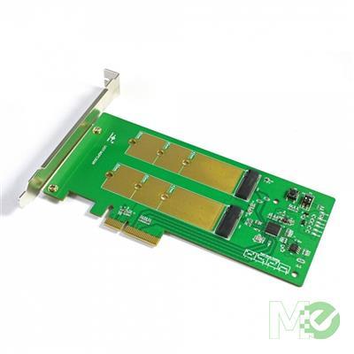 MX00112827 Dual M.2 SSD RAID PCIe X4 Host Card