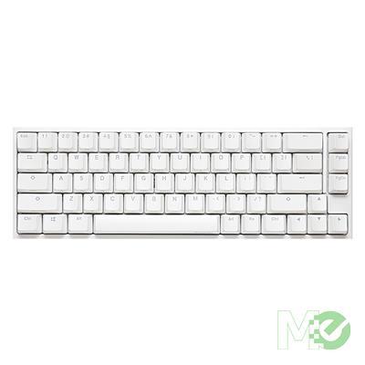 MX00112861 One2 SF White RGB 65% Gaming Keyboard w/ MX Silver Switches