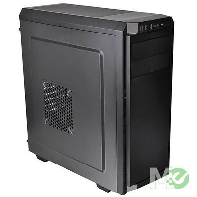 MX00112906 V100 Mid Tower ATX Computer Case w/ 500W Power Supply, Black