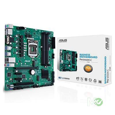 MX00112937 PRO B460M-C/CSM w/ DDR4-2933, 7.1 Audio, Dual M.2, Gigabit LAN