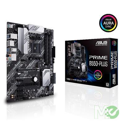 MX00112973 PRIME B550-PLUS w/ 4600 DDR4 , 7.1 Audio,1GB LAN, PCIe 4.0