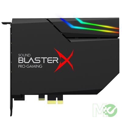 MX00113007 Sound BlasterX AE-5 Plus PCI-E Gaming Sound Card w/ RGB Lighting