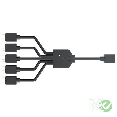 MX00113030 1-to-5 ARGB LED Splitter Cable