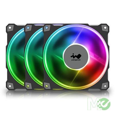 MX00113116 Jupiter J120 Addressable 120mm x 3 RGB Case Fan -Triple Pack