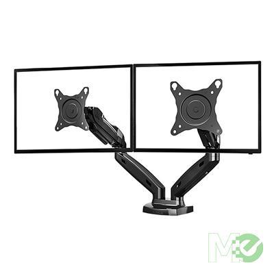 MX00113124 NB-F160 17in - 27in Full Motion Dual Monitor Arm Desktop Mount