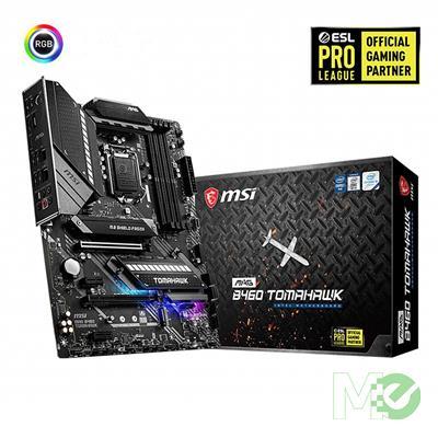 MX00113204 MAG B460 Tomahawk w/ DDR4-2933, 7.1 Audio, 2.5G + Gigabit Lan, CrossFire