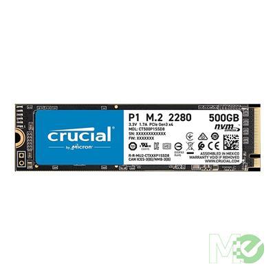 MX00113282 P1 NVMe M.2 PCIe Gen3 x4 SSD, 500GB