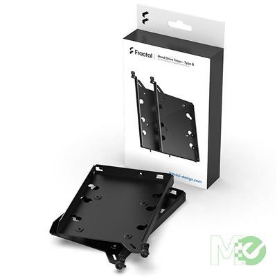 MX00113324 HDD/SSD Drive Tray Kit, Type B, Black, 2-Pack