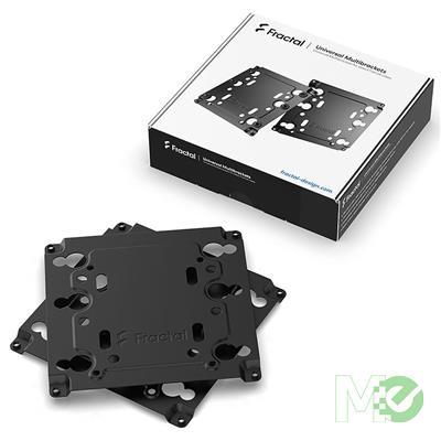 MX00113330 Universal Multi-Bracket Kit, Type A, Black, 2-Pack