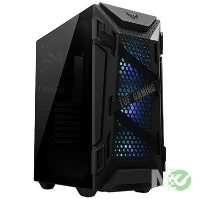 MX00113341 TUF Gaming GT301 ARGB Gaming Case w/ Tempered Glass, Black