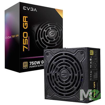 MX00113346 SuperNOVA GA Series 750 GA 80 Plus Gold Modular Power Supply, 750W