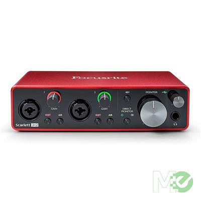 MX00113366 Scarlett 2i2 3rd Gen USB  2x2 Audio Interface