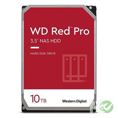 MX00113451 RED Pro 10TB NAS Desktop Hard Drive, SATA III w/ 256MB Cache