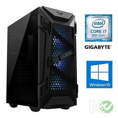MX00113597 Back to School Creators PC w/ Core™ i7-9700K, 16GB, 500GB SSD, 802.11ac, BT v5.0, Freezer34 Cooler,  RTX 2070 Super, Win10 Home