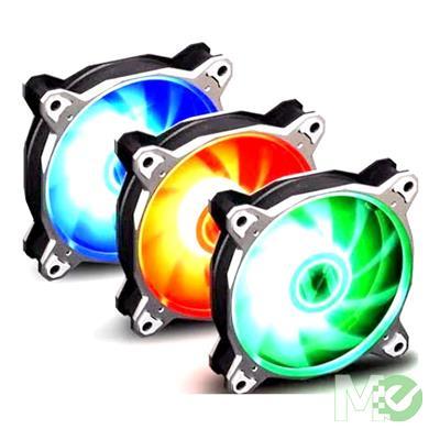 MX00113659 Boralite 120mm Fans 3 Pack  - Silver