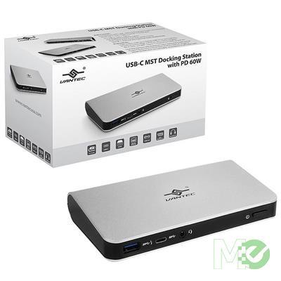 MX00113703 USB-C MST Docking Station w/ 60W Power Delivery