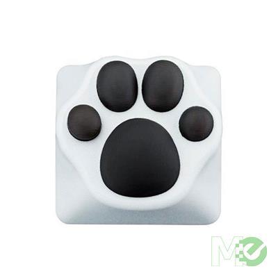MX00113757 Panda Paw ABS/Silicone Artisan Keycap, White / Black