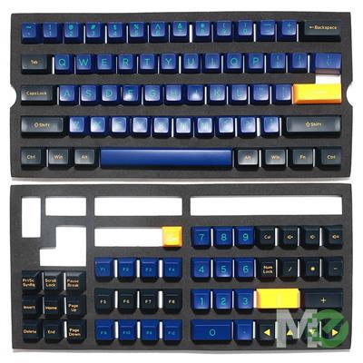 MX00113765 ABS Doubleshot SA Keycap Set, 108-Keys, Horizon