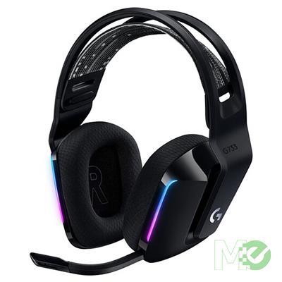 MX00113847 G733 LIGHTSPEED Wireless RGB Gaming Headset, Black