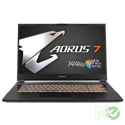MX00114032 AORUS 7 SB-7US1130SH w/ Core™ i7-10750H, 16GB, 512GB M.2 SSD, 17.3in Full HD 144Hz, GeForce GTX 1660 Ti, Windows 10 Home