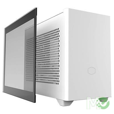 MX00114041 MasterBox NR200P Mini ITX Case w/ Tempered Glass, White