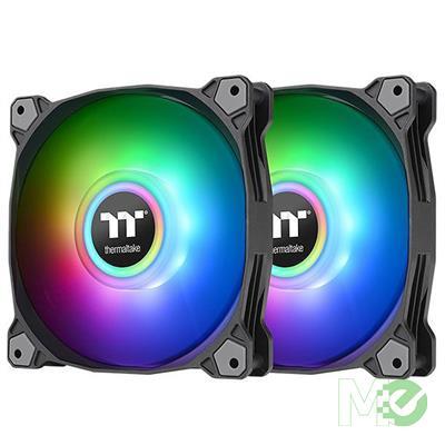 MX00114172 Pure Duo 14 ARGB Sync Radiator Fans, 2x 140mm, 2-Pack, Black