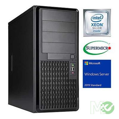 MX00114228 V_ST1200IV210 Tower Server w/ Xeon® Silver 4208, 32GB DDR4-2666 ECC Reg, 480GB Enterprise SSD, Windows Server 2019 Standard