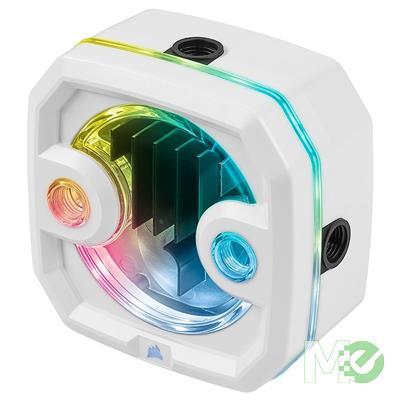 MX00114236 Hydro X Series XD3 RGB Pump / Reservoir Combo, White