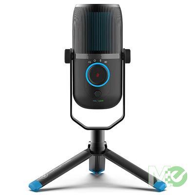 MX00114294 TALK Portable USB Microphone, Black