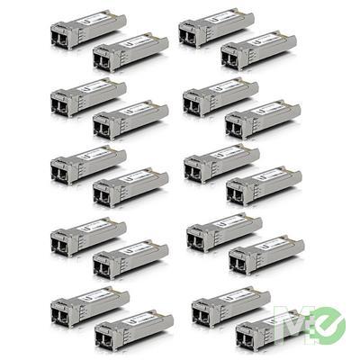 MX00114358 SFP+ Multi-Mode Fiber Modules, 20-Pack
