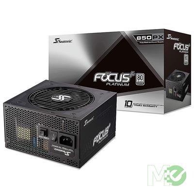 Seasonic FOCUS Plus 850 Platinum 850W 80+ Platinum ATX12V & EPS12V Full Modular 120mm FDB Fan Power Supply (SSR-850PX)