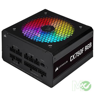 MX00114420 CX750F RGB 80+ Bronze Modular Power Supply, Black, 750W
