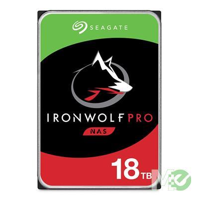 MX00114476 18TB IronWolf Pro NAS HDD, SATA III w/ 256MB Cache