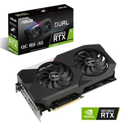 MX00114566 DUAL RTX3070 OC GeForce RTX 3070 8GB PCI-E w/ Dual HDMI, Triple DP