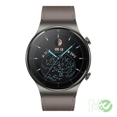MX00114664 Watch GT 2 Pro 46mm Nebula Gray, GPS, SpO2, 2-week Battery, Bluetooth Calling, Ski/Golf Modes (Canada Warranty)