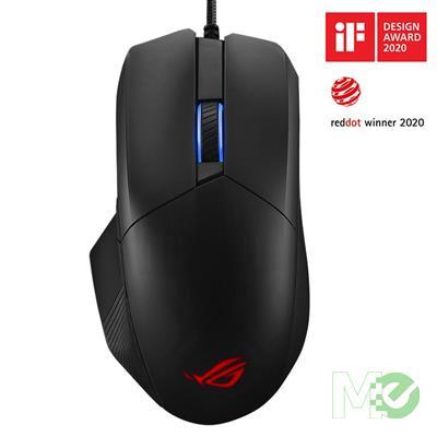 MX00114721 ROG Chakram Core RGB Optical Gaming Mouse w/ Adjustable Weight, Black