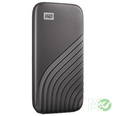 MX00114780 My Passport Portable SSD External Drive, 500GB, Gray