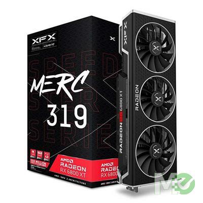 MX00114996 Speedster MERC319 Radeon RX 6800XT BLACK 16GB w/ HDMI, Dual DP, USB-C