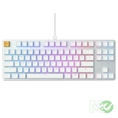 MX00115022 GMMK White Ice Edition TKL RGB Modular Mechanical Gaming Keyboard w/ Gateron Brown Switches