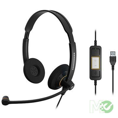MX00115147 SC60 USB Binaural Headset for Microsoft Lync, Black